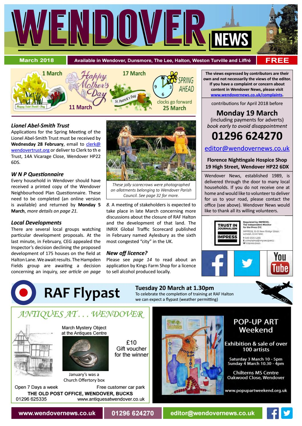 f7cab3d9d9ca Wendover News March 2018 by Wendover News - issuu