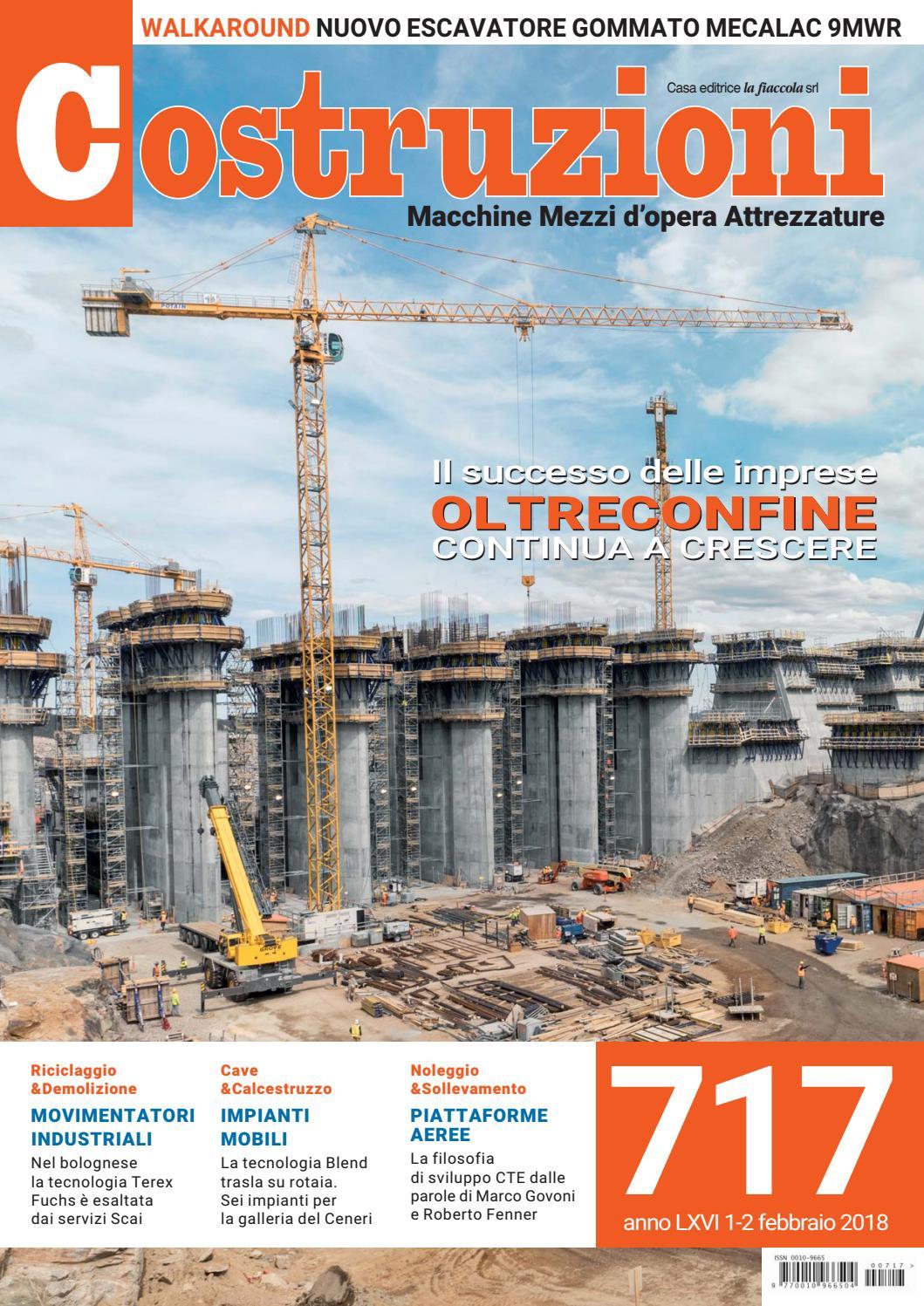 Costruzioni 717 1-2 febbraio 2018 by Casa Editrice la fiaccola srl - issuu 3961a31c1fa