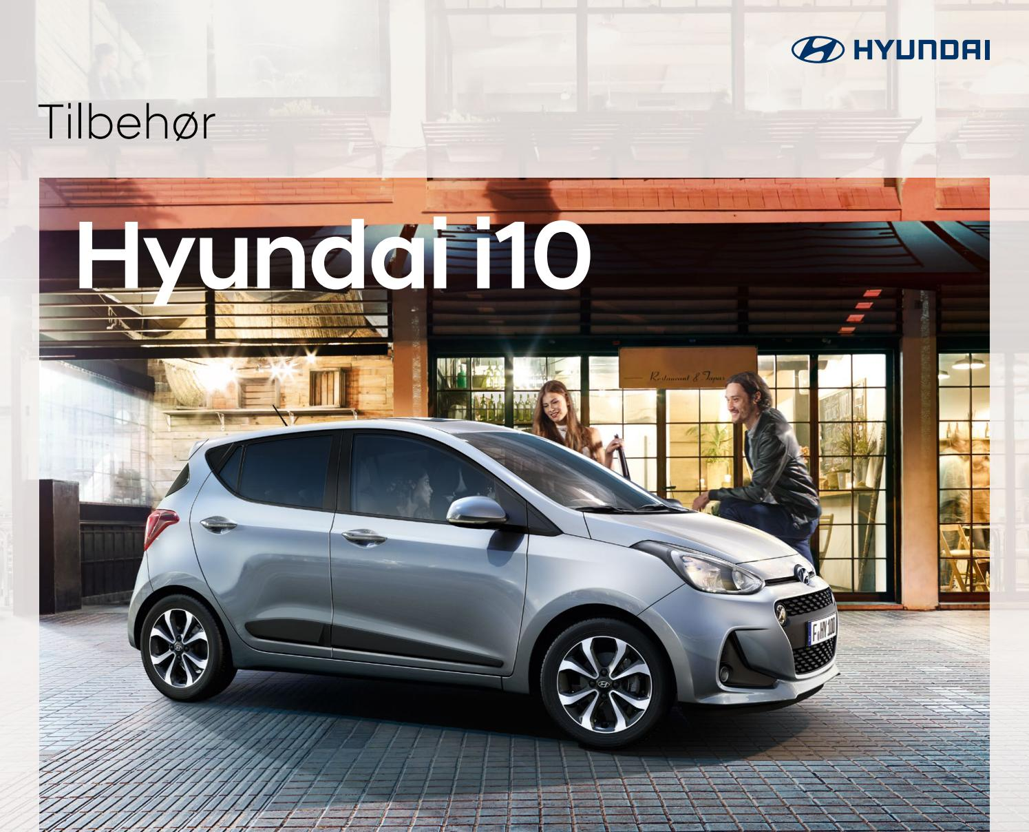I10 Tilbehr By Hyundai Issuu The Tailgate Strip Also Gives You Option Of Hard Wiring