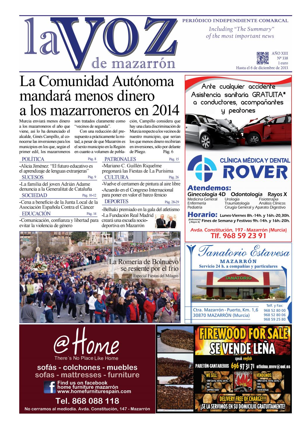 Voz338 by La Voz de Mazarrón (Periódico) - issuu