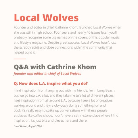 Page 4 of Local Wolves