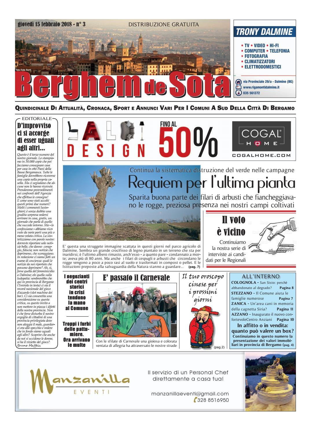 Berghem de Sota del 15 febbraio 2018 by Edizioni Lime Milano - issuu 4967f3d6824