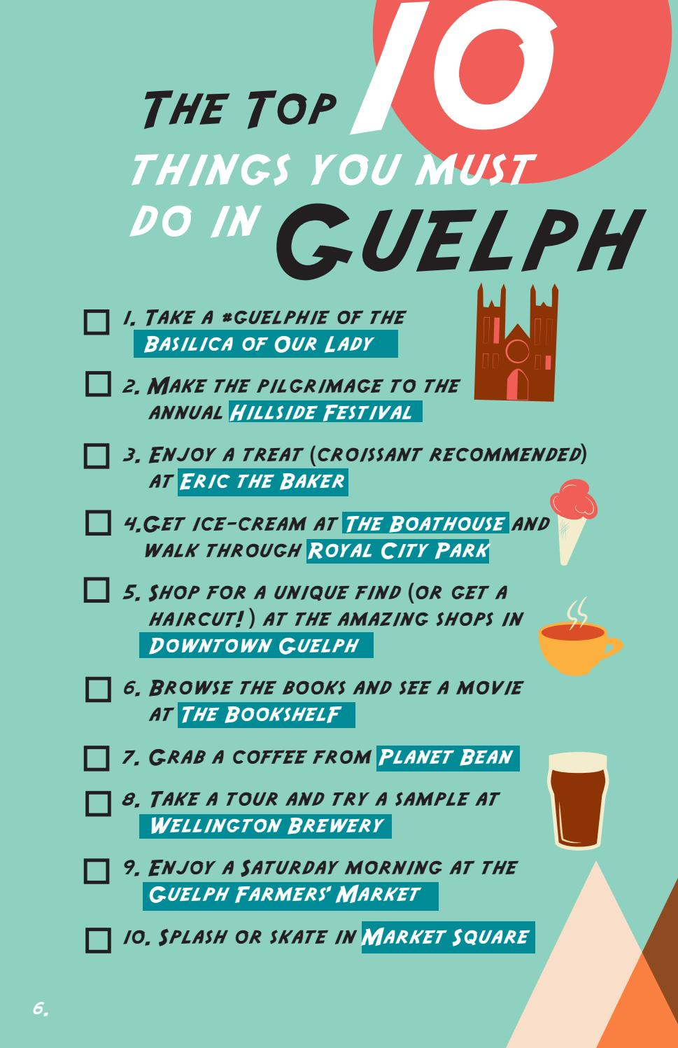 2018 Visit Guelph Guide Edition One By Guelph Tourism Services Issuu