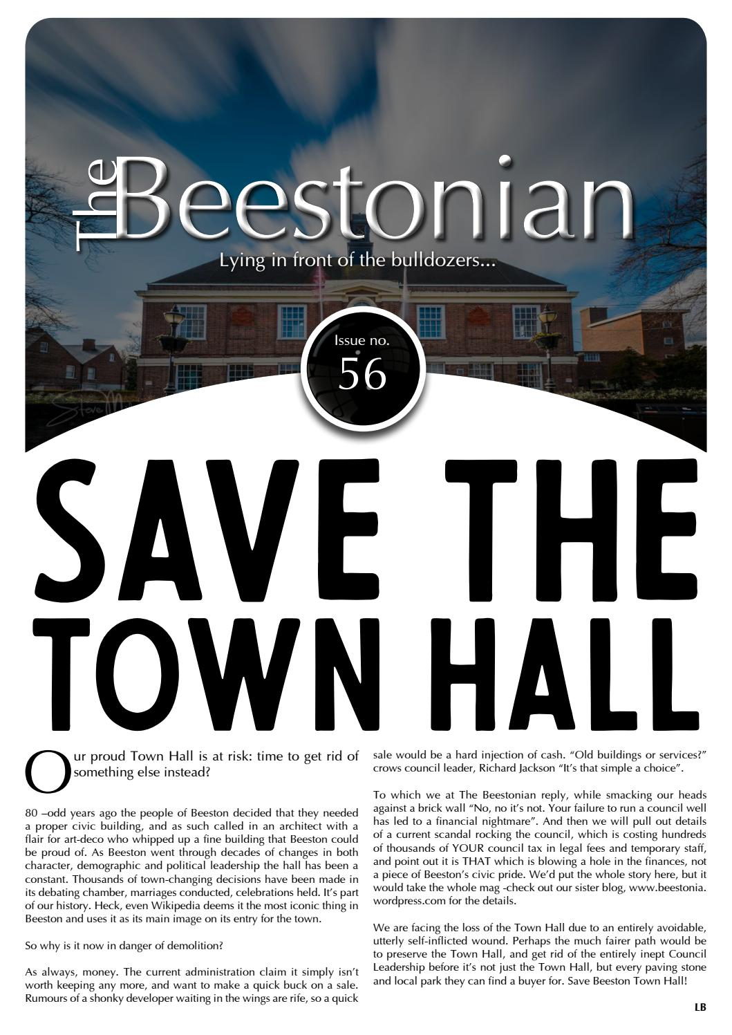 Beestonian 56 by The Beestonian - issuu