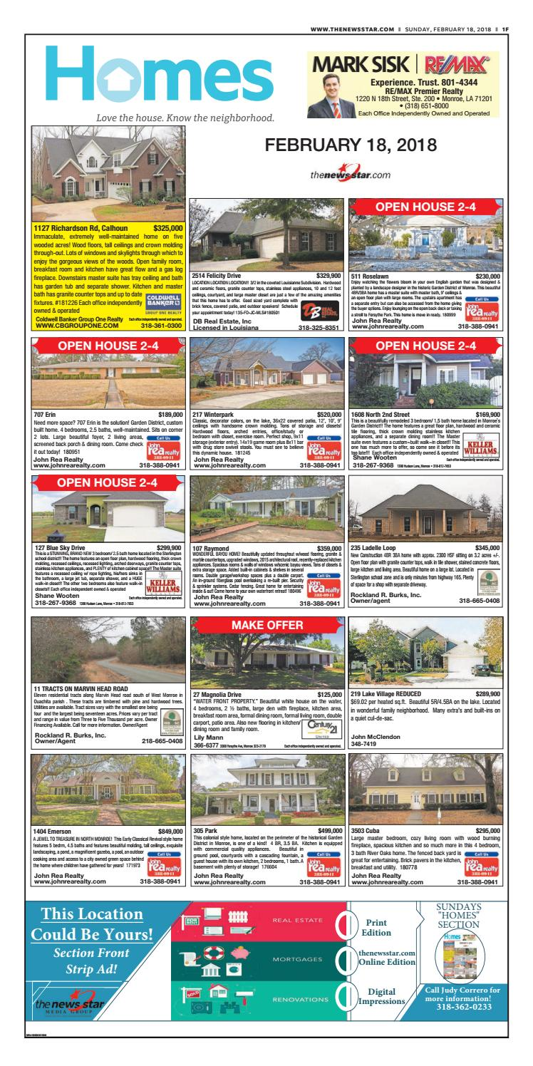 homes feb 18 2018 by part of the usa today network issuu rh issuu com