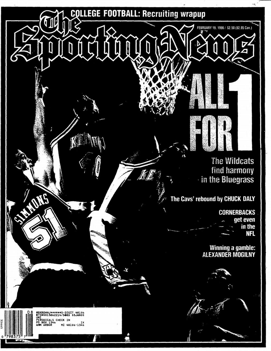 06320db5ff5 The sporting news 02 19 1996 by Mexico Sports Collectibles - issuu