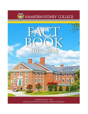 Hampden Sydney Campus Map.Hampden Sydney College Fact Book 2017 By Hampden Sydney College Issuu