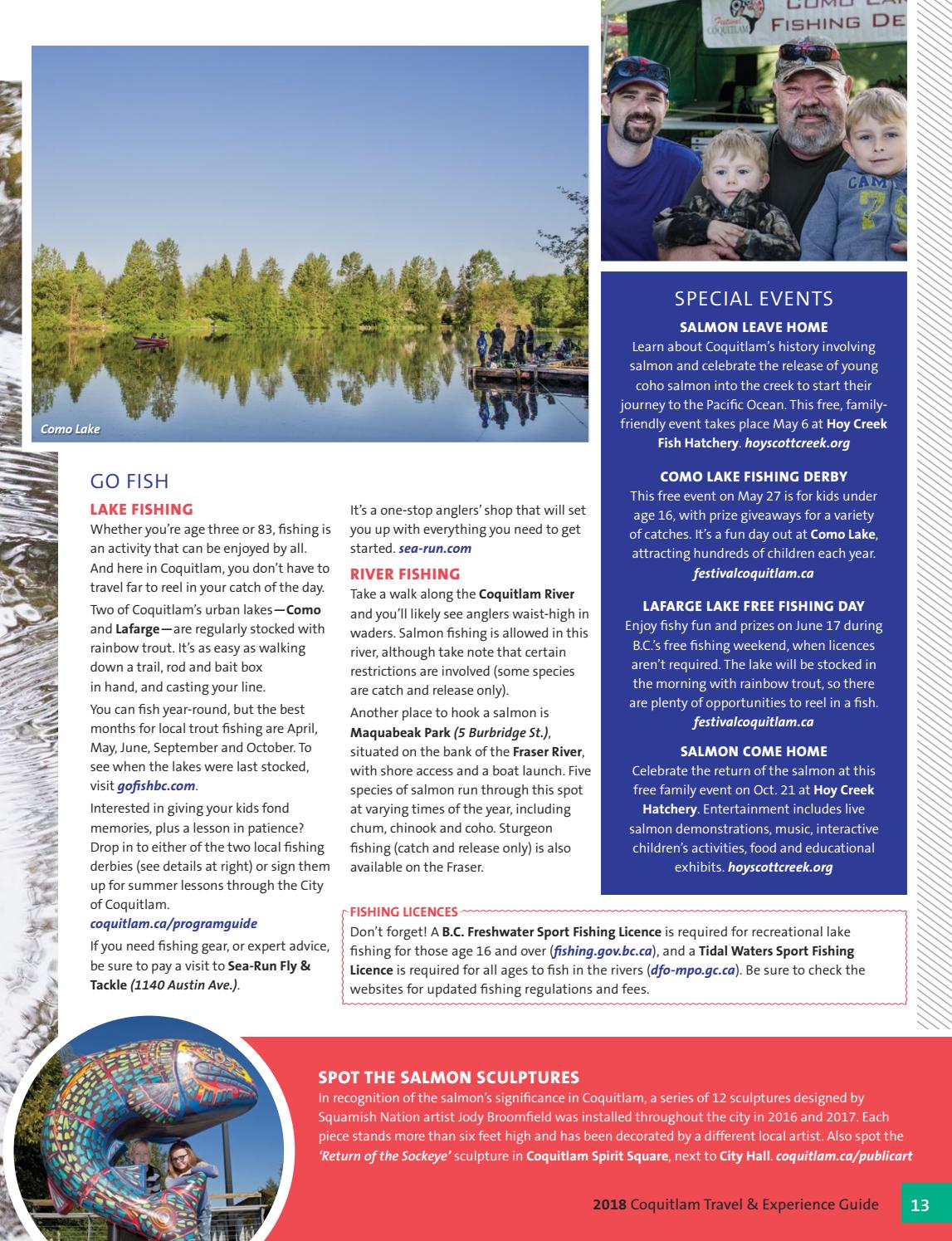2018 Coquitlam Travel and Experience Guide by City of Coquitlam - issuu