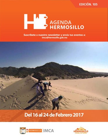 "Cover of ""Agenda Hermosillo 16 feb 2018"""