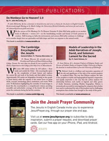 Jesuit Winter 2018 Issue by Jesuits of Canada - issuu
