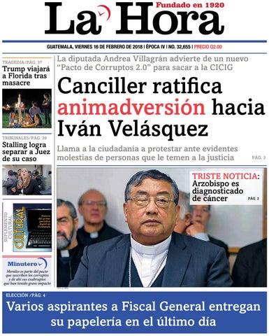 a2a66ef7b27a9 La Hora 16-02-2018 by La Hora - issuu
