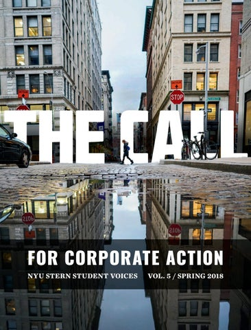 The call for corporate action nyu stern student voices vol 5 for corporate action nyu stern student voices reheart Images