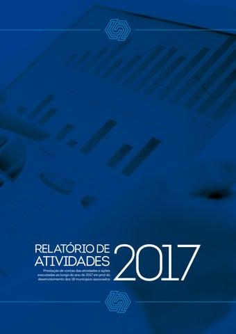"""Cover of """"Relatório de Atividades 2017 AMUREL"""""""