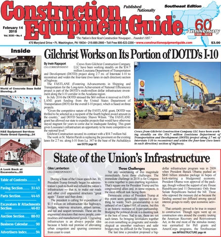 Southeast 4 February 14, 2018 by Construction Equipment Guide - issuu