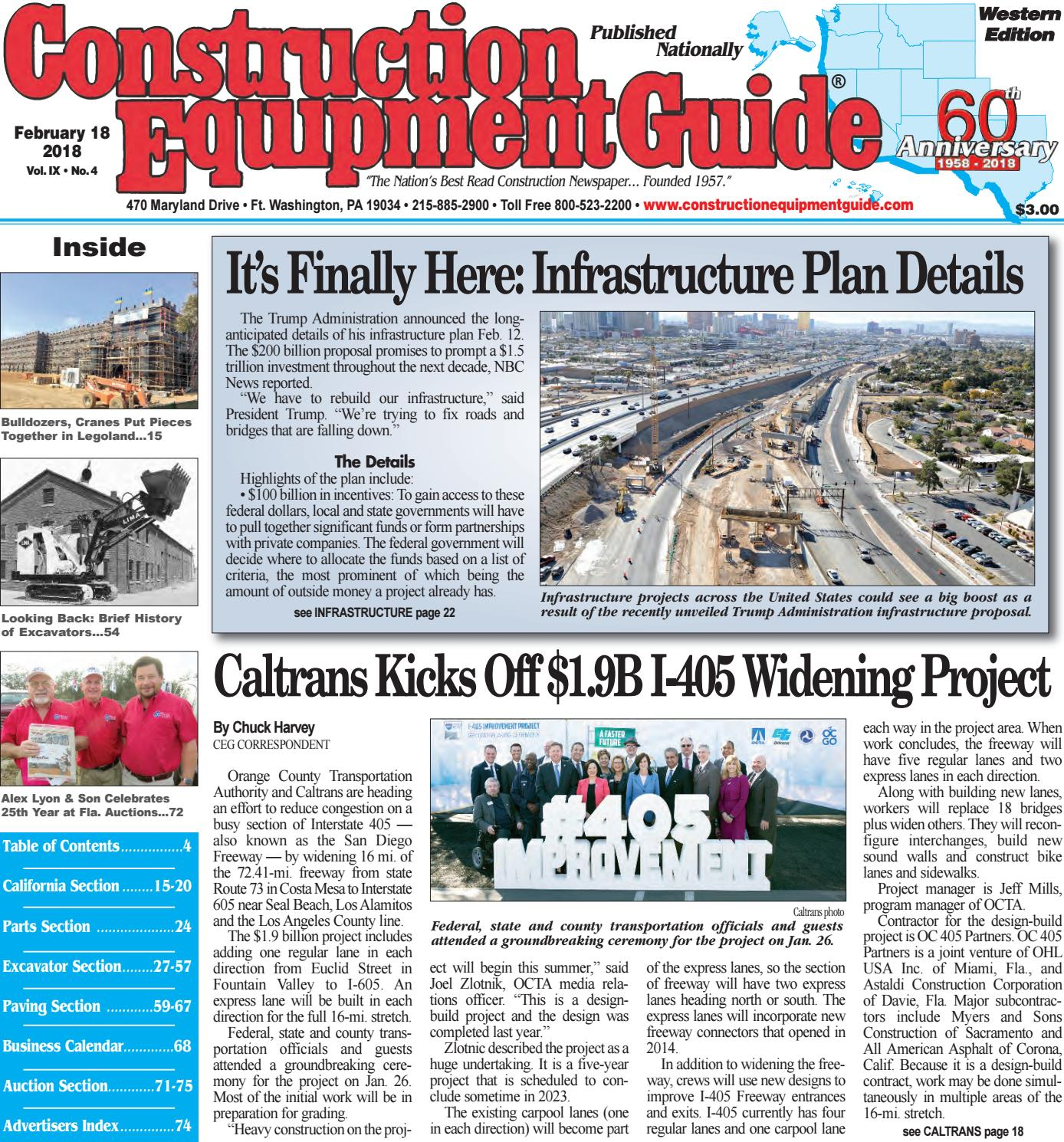 West 4 February 18, 2018 by Construction Equipment Guide - issuu