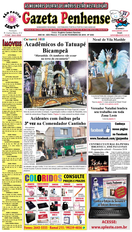 37e756939e38d Gazeta Penhense edição 2353 - 17 a 24.02.2018 by Marcelo Cantero - issuu