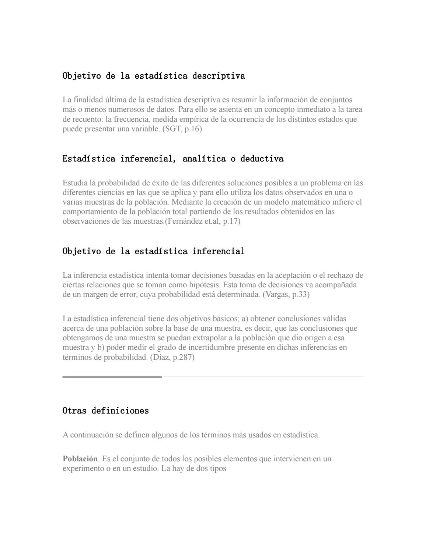 Objetivo de la estadística descriptiva by Daniel Sanchez Ortega - issuu