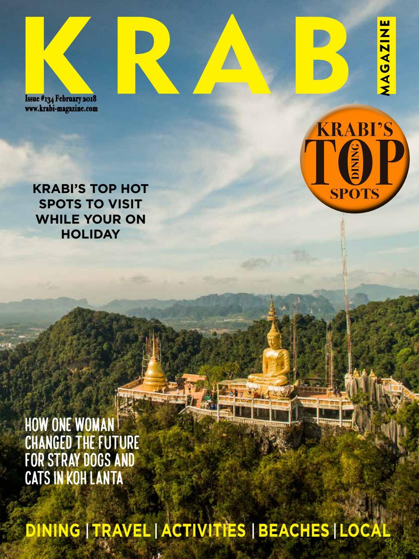 Krabi magazine February 2018 by Kitdee Media & Design Co., Ltd ...