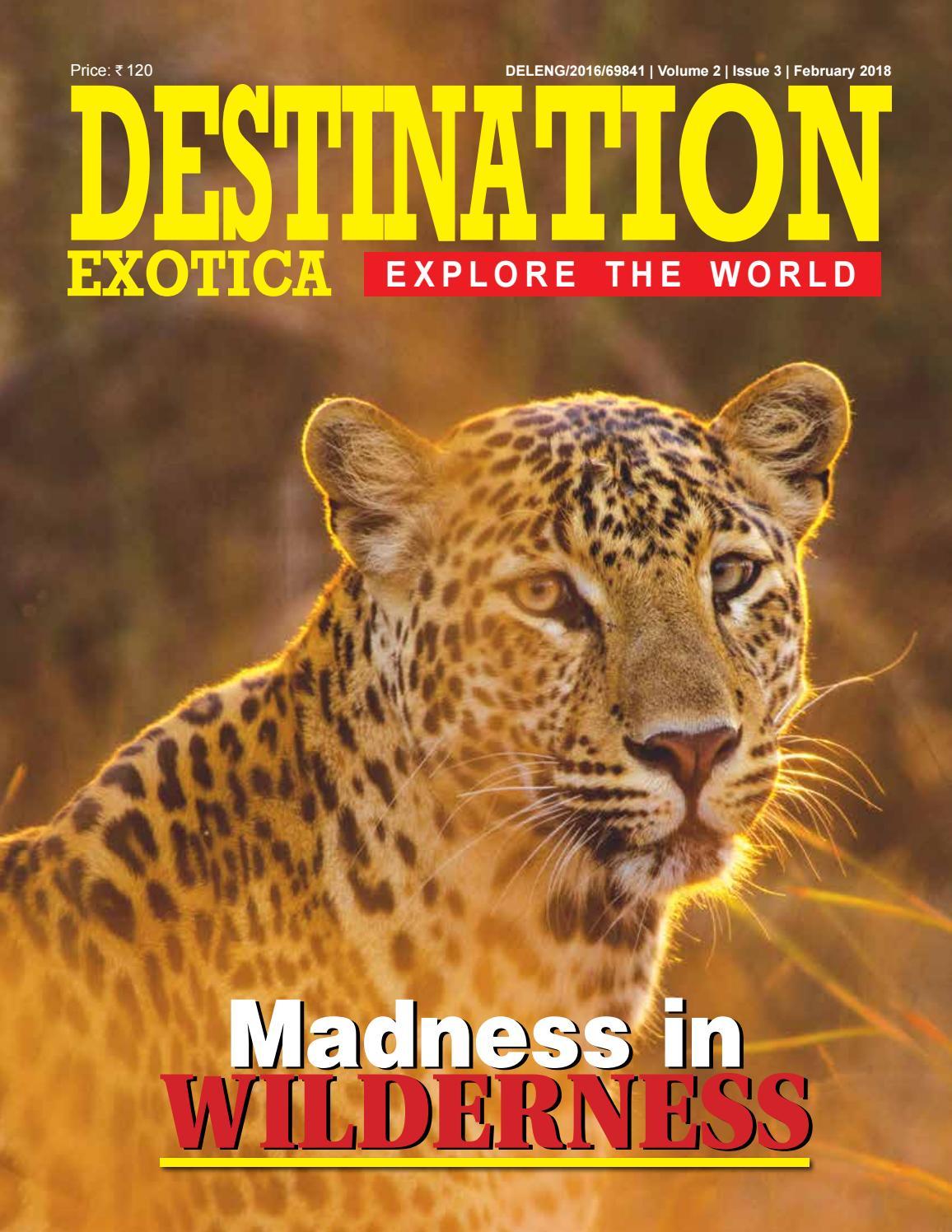 Destination exotica february 2018 by Destination Exotica ...