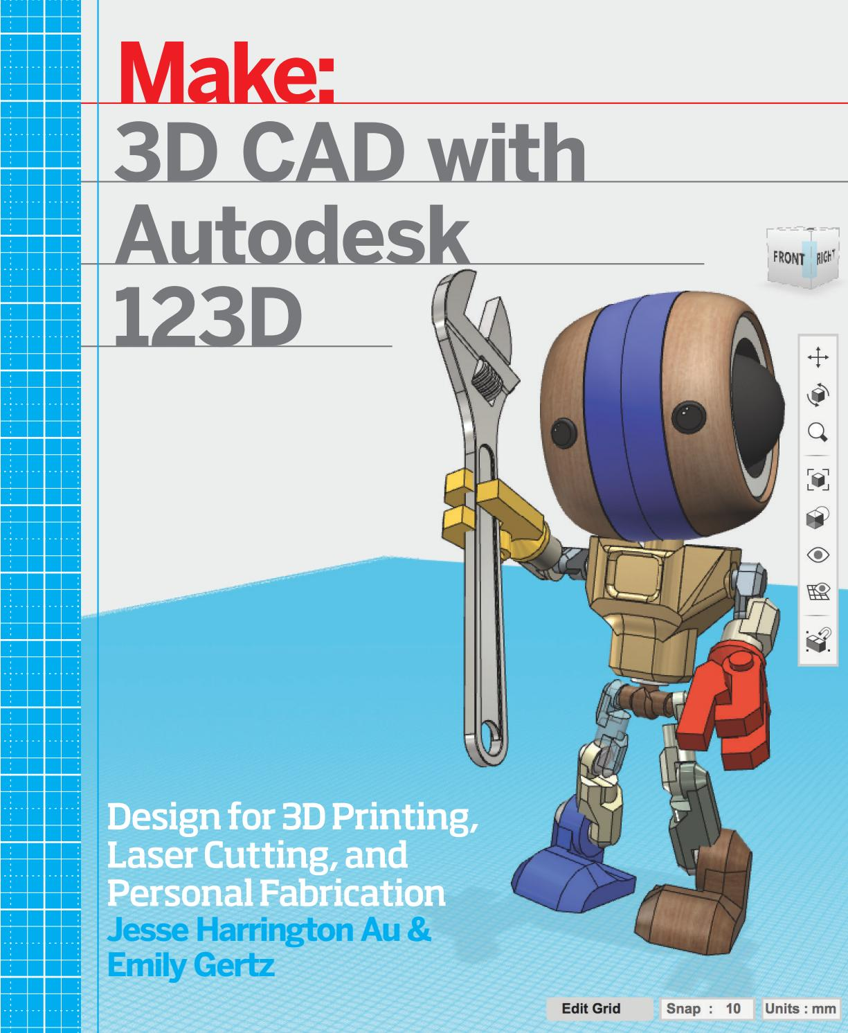 Make 3d cad with autodesk 123d by i360 - issuu