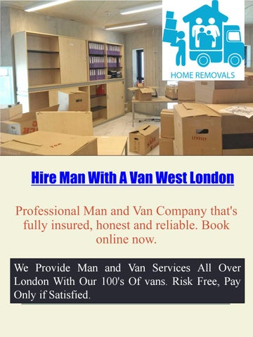 4b746942d6 City Man And Van Hire Services by hiremanandvan - issuu