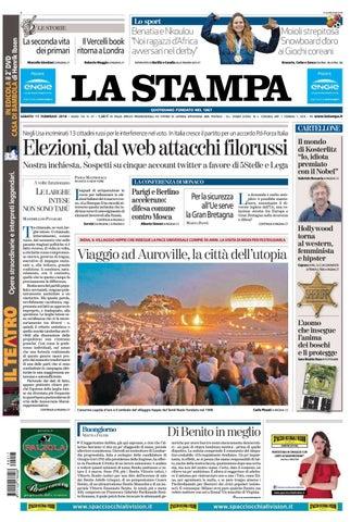 e7c8403811 La stampa 17 febbraio 2018 by laredazione - issuu