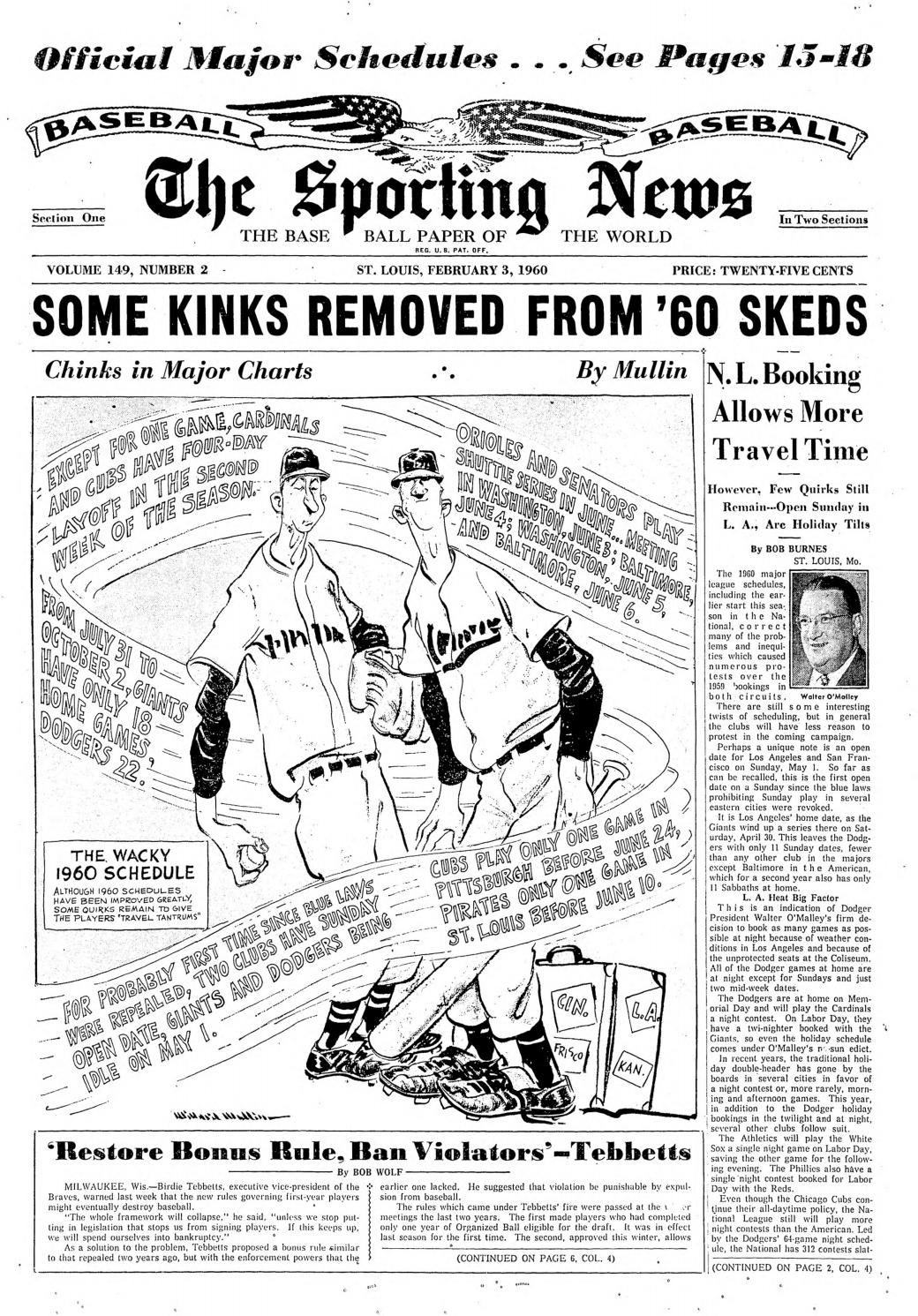 24600d14276d The sporting news 02 03 1960 by Mexico Sports Collectibles - issuu