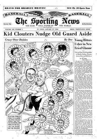140c95c07 The sporting news 01 27 1960 by Mexico Sports Collectibles - issuu