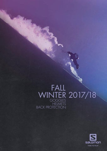 a8a2c98ec7a6 Product Workbook Salomon Accessories 2017 2018 lr by snowsport ...