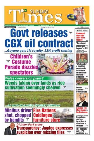 Guyanatime 18 february 2018 by Gytimes - issuu