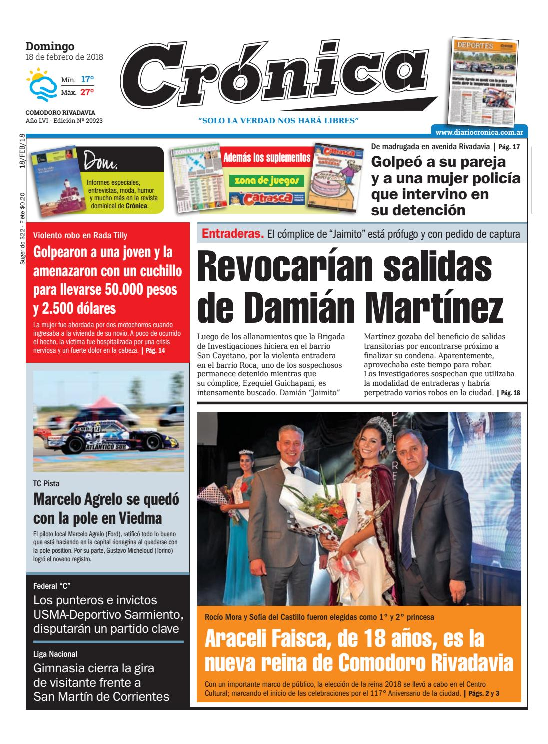 7a46be004a517bf6fb0115645aaa1b93 by Diario Crónica - issuu