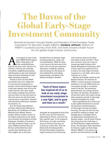 Page 57 of The Davos of the Global Early-Stage Investment Community