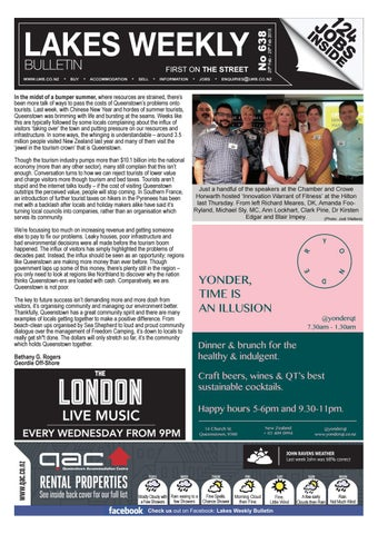 Issue 638 Web By Lakes Weekly Bulletin   Issuu