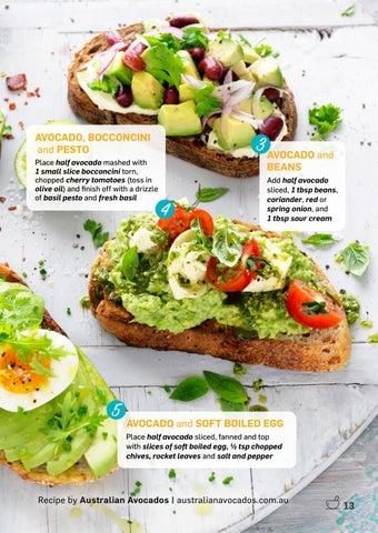 Page 13 of Avo Toast 5 Ways