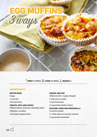 Page 14 of Eggs Muffins 3 Ways
