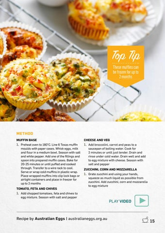 Page 15 of Eggs Muffins 3 Ways