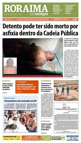 6ec456a8345f3 Jornal roraima em tempo – edição 863 by RoraimaEmTempo - issuu