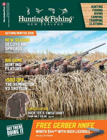 a0122ab27ca7d Hunting & Fishing New Zealand, Autumn Catalogue 2018