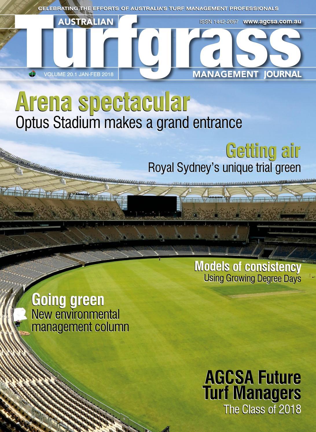 Australian Turfgrass Management Journal - Volume 20 1