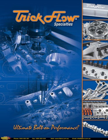 2017 Trickflow Catalog by Fabre Australia - issuu