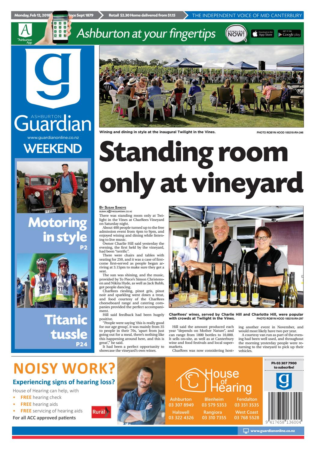 f1cd122f65 Ag 12 february 2018 by Ashburton Guardian - issuu