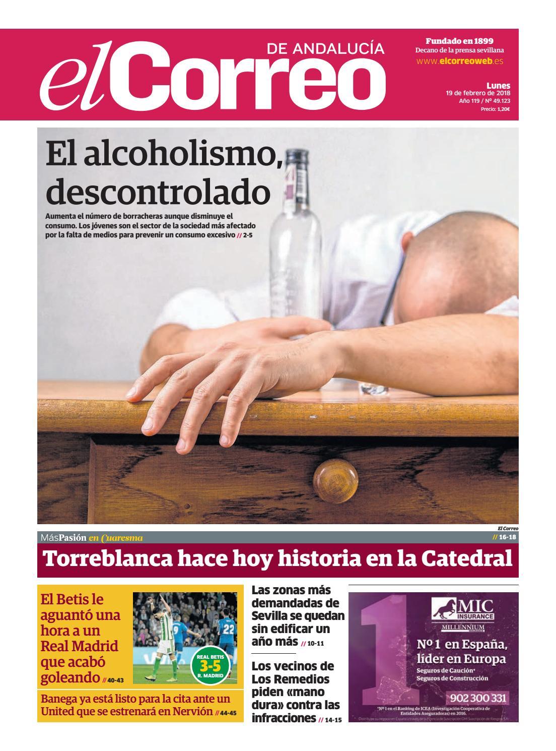 19.02.2018 El Correo de Andalucía by EL CORREO DE ANDALUCÍA S.L. - issuu 1f4c79ac67c25