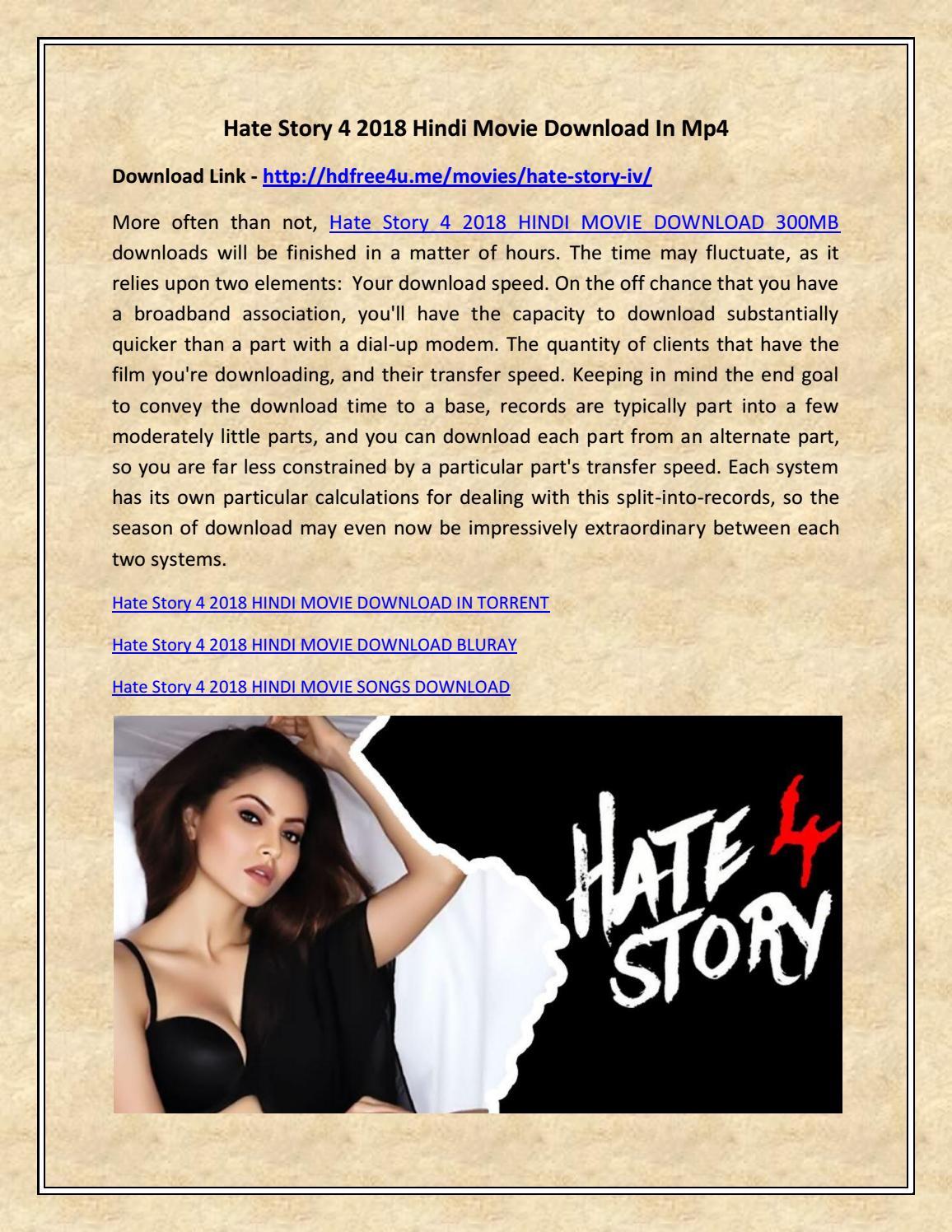 hate story 4 2018 hindi movie download in mp4hdfree4u - issuu