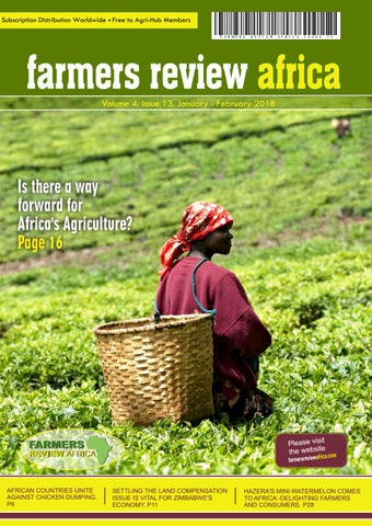 Farmers Review Africa Jan/Feb 2018 by Mailing Times Media