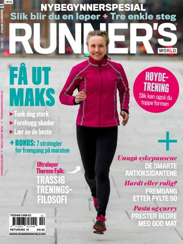 f2fb55d2 Runner's World 2/18 by Runner's World Norge - issuu