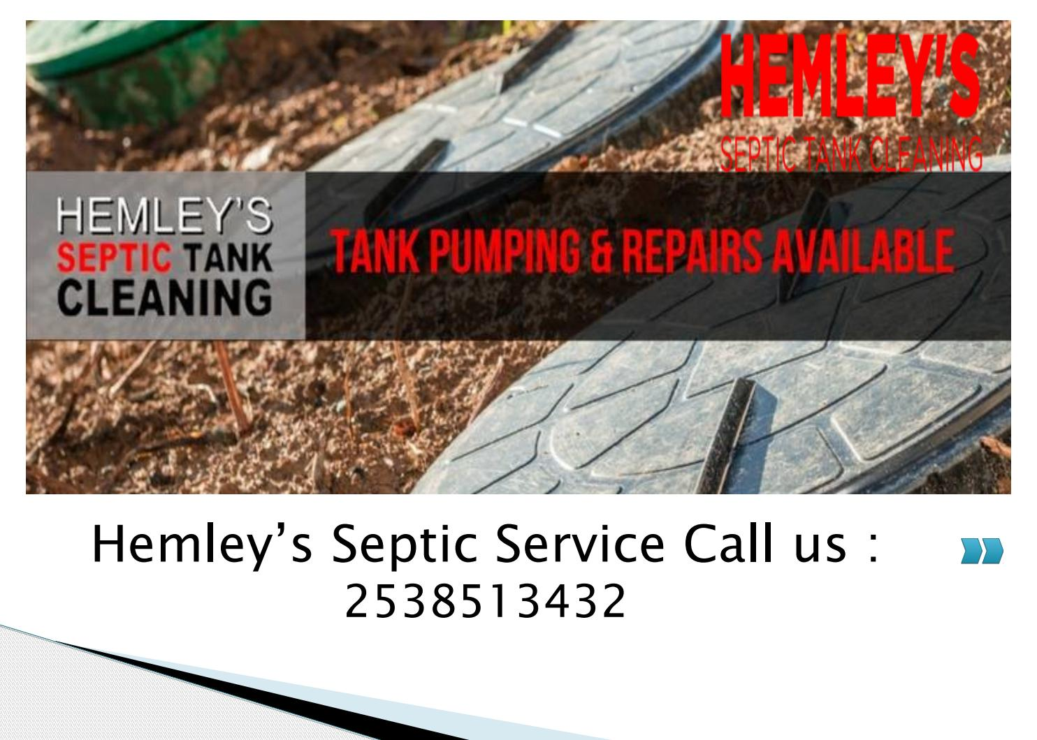 24 Hour Septic Pumping Service by Hemley's Septic Service