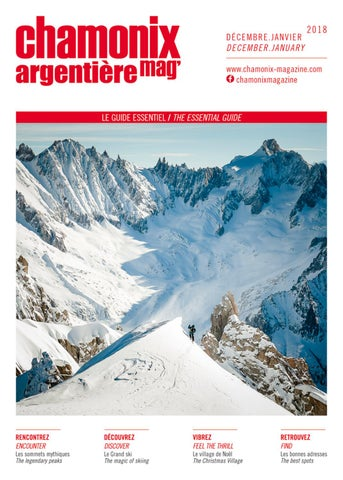 Chamonix Décembre Issuu Magazine By Hiver Janvier 18 Édimontagne 17 W29EDHYI