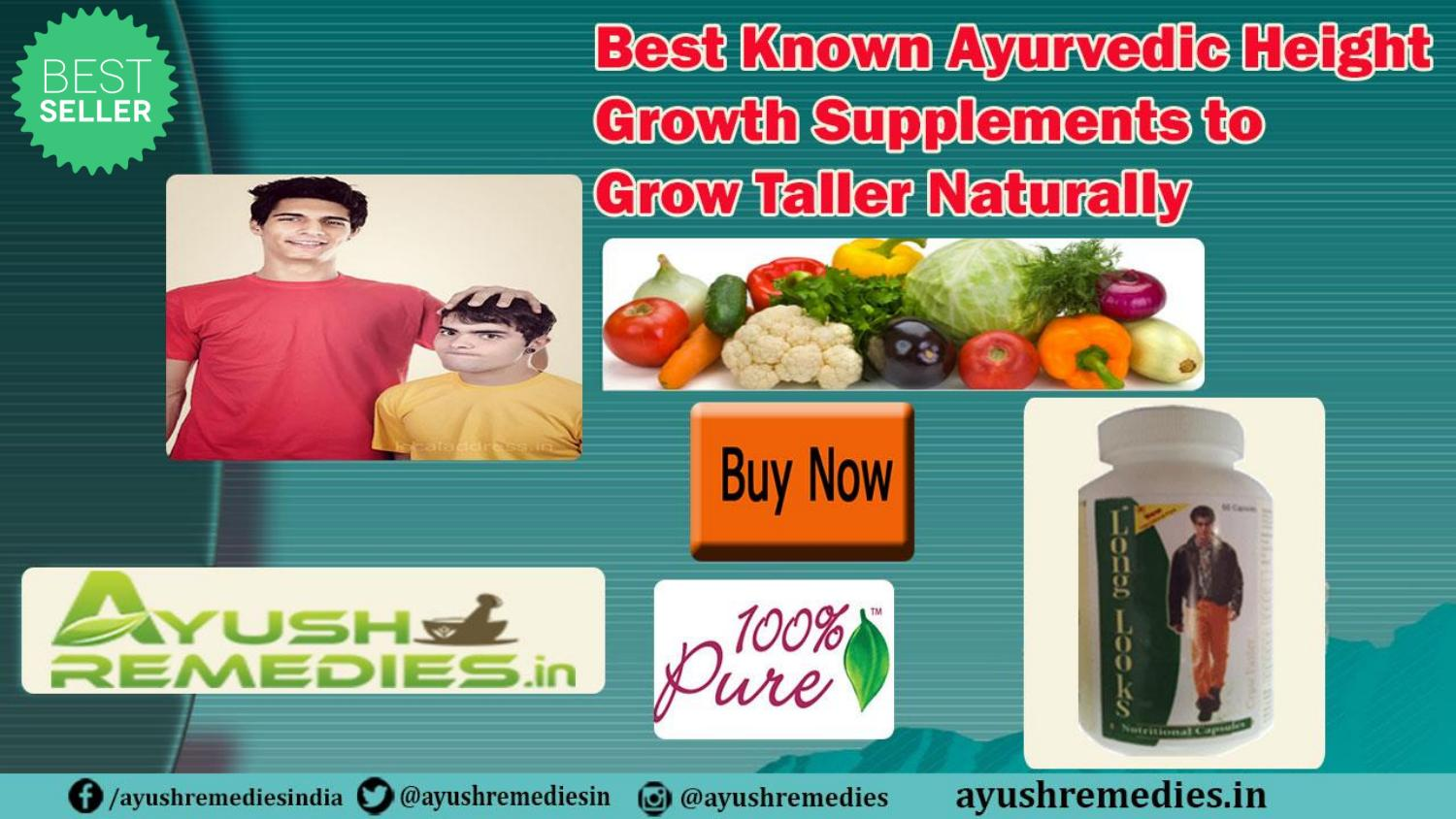 Best Known Ayurvedic Height Growth Supplements To Grow Taller Naturally By Ayush Remedies Issuu
