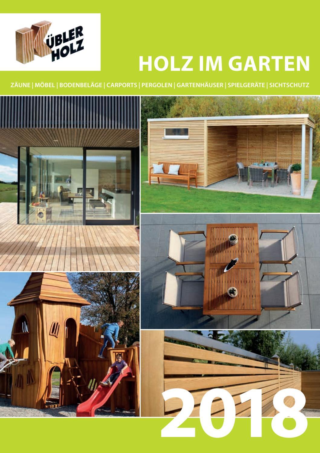 Holz Kubler Gartenmobel By Kaiser Design Issuu