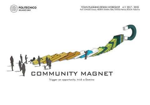 "Cover of ""TPDW 2017-18 - 02 Community magnet"""